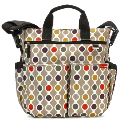 Bolso Skip Hop Duo signature wave dot