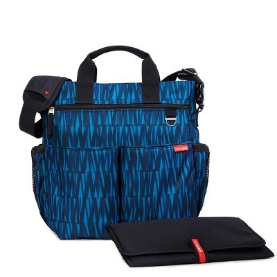 Bolso de pañables duo graffiti blue