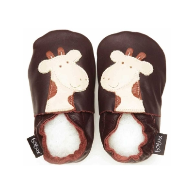 Zapatos Bobux Chocolate Giraffe
