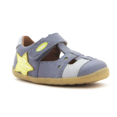 Bobux Step Up Starbright sandal Cobalt