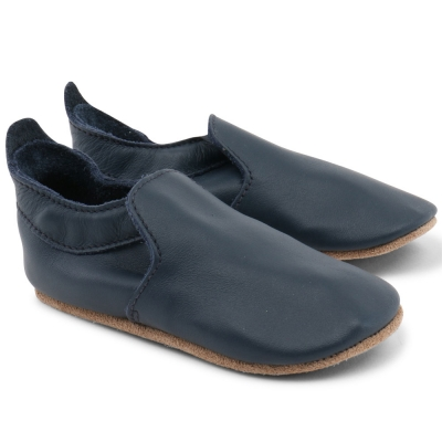 Zapatos suela blanda navy Vogue Loafer