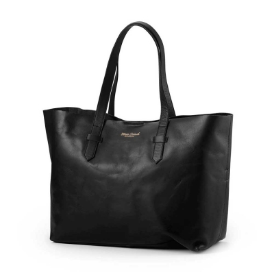 Bolso cambiador Black Leather