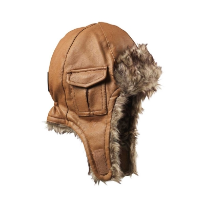 Gorro Chestnut Leather