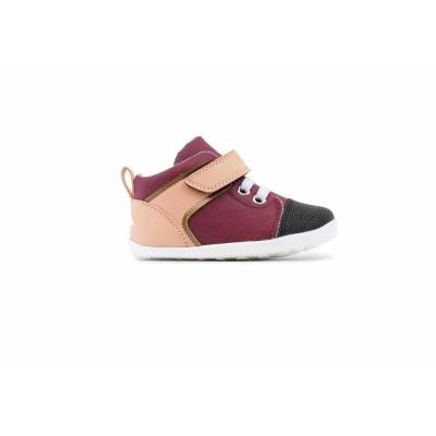 Zapatillas Step-Up Beat Burgundy pink