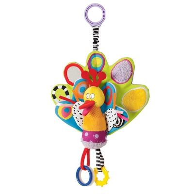 Rattling jitter toy- bird